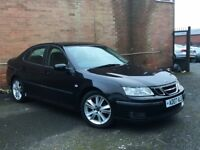 2007 Saab 9-3 1.9 TiD Vector Sport Anniversary 4dr AUTO +STUNNING EXAMPLE++F/S/H++LONG MOT++LEATHER+