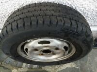 Ford Transit wheel and Goodyear tyre - Excellent conditon 195 70R 15C