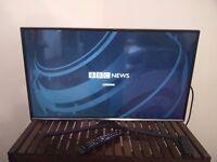"Samsung 32"" J5600 5 Series Flat Full HD Smart LED TV w/ Amazon TV stick"