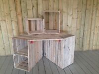 Rustic display stand
