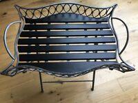 Decorative folding tray / side table