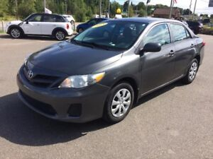2013 Toyota Corolla JAMAIS ACCIDENTÉ/CONDITION IMPECCABLECE/LE/S