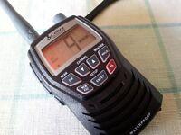 COBRA MR HH125 HANDHELD MARINE VHF RADIO