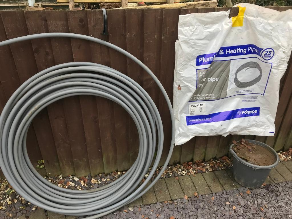 Poly plumb barrier pipe