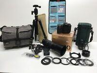 Nikon D300 with lenses, big set of accesories