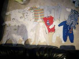 Baby boy 0-3 suits mainly from next