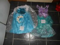 6 x kids disney dresses