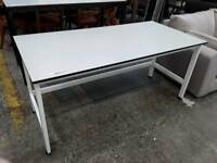White Lab Table