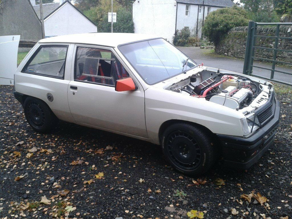 vauxhall nova track sprint hill climb rally car **minted** must see ...