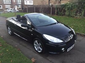 Peugeot 307 CC 2.0 HDi Sport 2dr£2,799 p/x welcome 6 MONTHS FREE WARRANTY