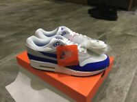 Nike air max 1 30th anniversary OG blue white size uk 9