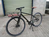 Specialized Globe 01 Cargo bike Medium with Giro helmet, gloves and magnet powered light