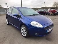 Fiat Punto 1.9 JTD MULTIJET SPORTING 3 DOOR HATCHBACK (blue) 2006
