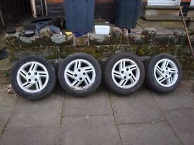 Alloy wheels - for £40/=