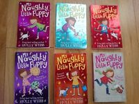 My Naughty Little Puppy 1 to 6 by Holly Webb. Used, good condition. St Leonard's, Exeter.