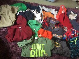 Large boys Next/h and m etc bundle of clothes age 5