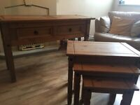 Console table and nest of tables
