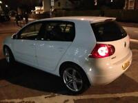 Volkswagen GOLF GT TDi 2.0 White AUTOMATIC Long Mot Service £1700