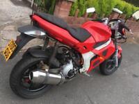 GILERA DNA 125 REGISTERED AS A 50CC SWAP PX