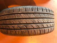 Part worn tyre