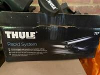 Thule 757 Railing Rapid System Footpack For Cars With Roof Rails