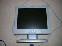 Computer Monitor with built in audio system, wireless keyboard and wireless mouse