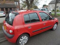 RENAULT CLIO 1.1 EXP 5DR HATCH FULL YRS MOT VERY ECONOMICAL