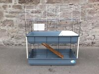 Large Double Decker Rabbit Cage - Perfect Condition