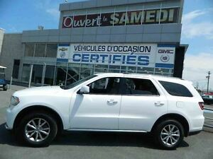 2015 Dodge Durango Limited 4X4 + CUIR + NAVIGATION +7 PASSAGERS