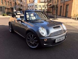 Mini Cooper S convertible Jcw model 2006plate 210 bhp px welcome