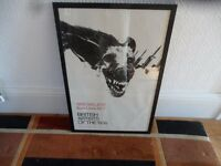 Colin Self British Pop Art Poster Tate Guard Dog Blake Hamilton Tilson Framed and Glazed