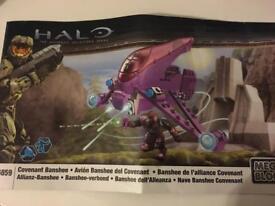 Mega Bloks Halo Covenant Banshee 96859