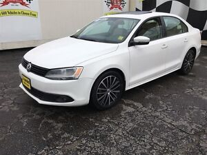 2013 Volkswagen Jetta Comfortline, Automatic, Leather, Sunroof