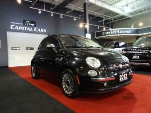 2012 Fiat 500C LOUNGE / CONVERTIBLE / BLUETOOTH