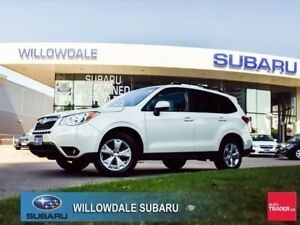 2015 Subaru Forester 2.5i Touring PKG No Accidents Off Lease
