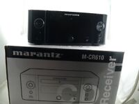 Marantz M-CR610 Melody Media CD Receiver with Streaming and DAB+ - Black