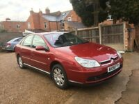 Citroen C5 2.2 HDi 16v VTX+ 5dr, FULL SERVICE HISTORY, SATELLITE NAVIGATION, TIMING BELT CHANGED