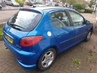 Peugeot 206 1.4 diesel £30 tax/year