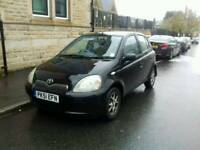 Toyota yaris 1.3 Cdx 5 door long mot Cheap to run and insurance