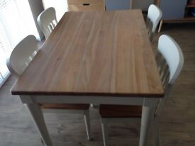 John Lewis Drift table and chairs