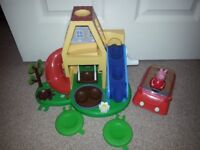 PEPPA PIG: Webbles Playhouse & Car with Figure *** SOLD - Waiting Collection***