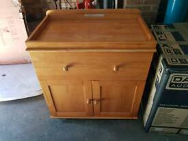 Obaby Baby Pine Changing Table Unit