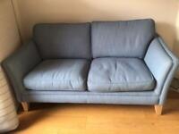 Laura Ashley Blue Aldeburgh 2 Seater Sofa