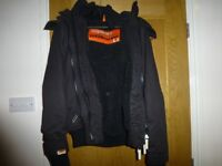 As new Superdry Mens Medium Black Windbomber Jacket