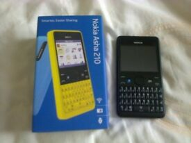 NEW nokia 210 on tesco with tesco sim card