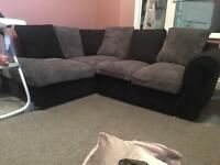Corner sofa & matching arm chair (sale or swap)