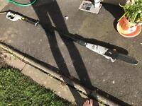 Titan electric pole chainsaw