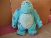 Monsters Inc Sully Plush Teddy Large 13 inch Disneyland Paris