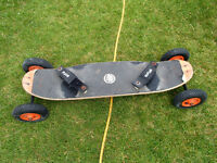 Mongoose mountain board and power kite 4.0 m2