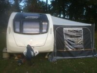 2013 SWIFT CHALLENGER 580 SE WITH FULL DOREMA AWNING AND ANNEXE